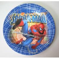 Парти чинийка с диаметър 23 см модел 53507 със Спайдър Мен