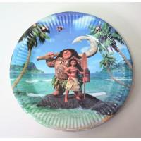 Парти чинийка с диаметър 23 см модел 53508 с Моана