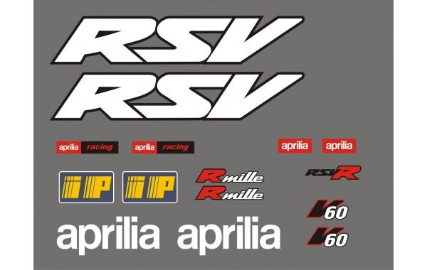 Стикери за Aprilia RSV mille 2001 модел 26865