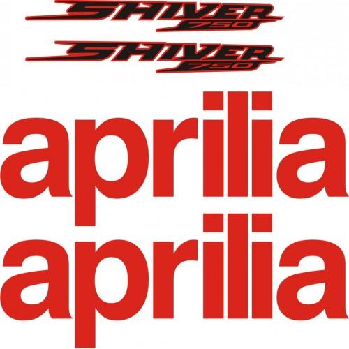 Стикери за Aprilia Shiver  2013 модел 26875