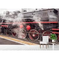 Фототапет локомотив цифров печат максимален размер 260х400см модел 28050