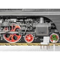 Фототапет колела на локомотив  цифров печат максимален размер 200х300см модел 28055