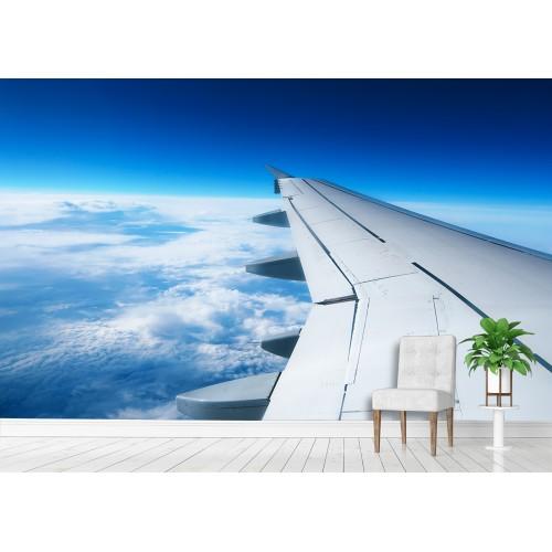 Фототапет поглед от крилото на самолет цифров печат максимален размер 200х300см модел 28120