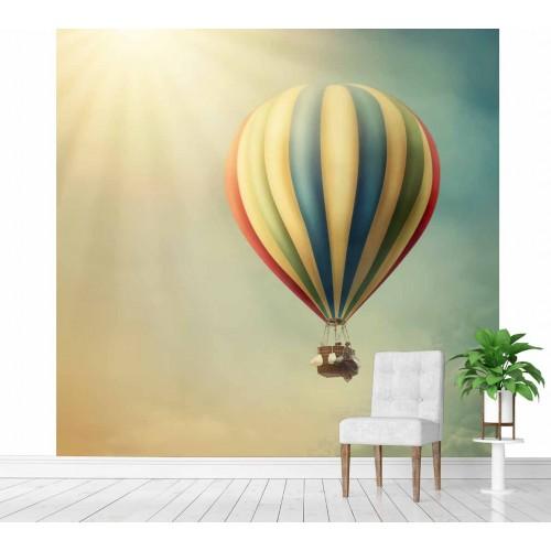 Фототапет балон в облаците цифров печат максимален размер 200х250см модел 28147