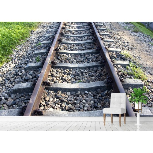 Фототапет релси на влак цифров печат максимален размер 200х300см модел 28148