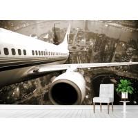 Фототапет поглед над крилото цифров печат флис основа максимален размер 200х300см модел 28324