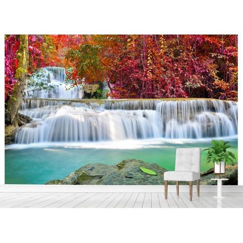 Фототапет водопад гора цифров печат максимален размер 260х400см модел 28058
