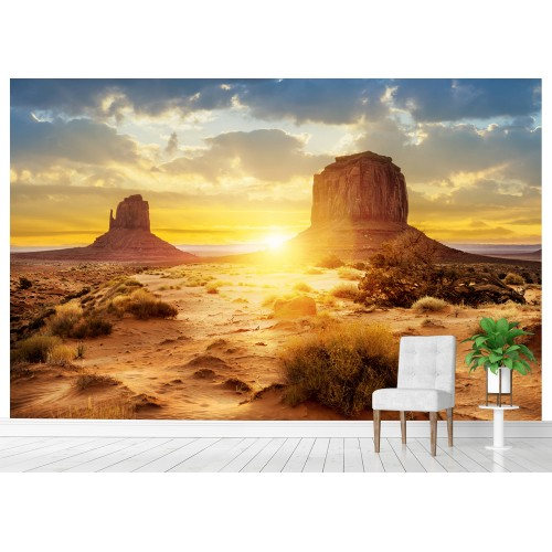 Фототапет пустиня залез цифров печат максимален размер 260х400см модел 28060