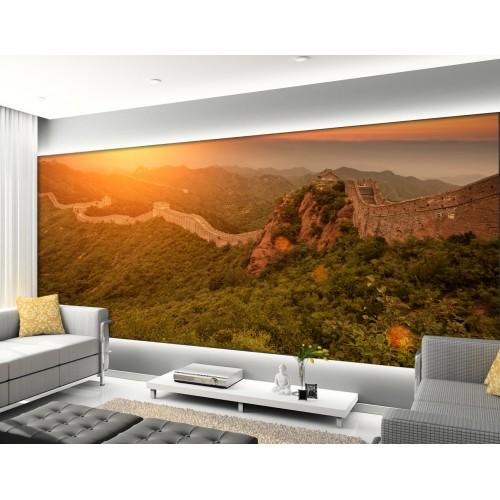 Фототапет залез над китайската стена цифров печат максимален размер 200х300см модел 28099