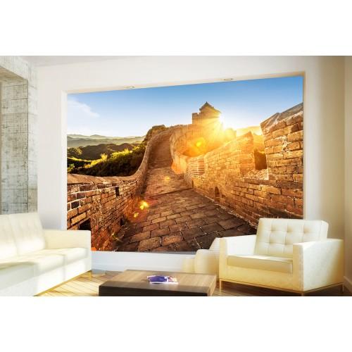 Фототапет изгрев над китайската стена цифров печат максимален размер 260х400см модел 28106