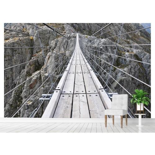 Фототапет въжен мост над скалите цифров печат максимален размер 200х300см модел 28122