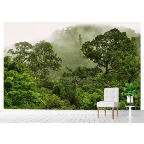 Фототапет вековна гора вдигаща се мъгла цифров печат максимален размер 260х400см модел 28138