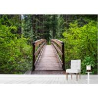 Фототапет мост през гората цифров печат максимален размер 200х300см модел 28150