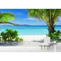 Фототапет палми плаж цифров печат максимален размер 200х300см модел 28160
