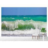 Фототапет плаж вълни море цифров печат максимален размер 260х400см модел 28163