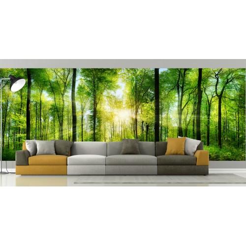 Фототапет ГОРА слънчеви лъчи цифров печат максимален размер 260х700см модел 28171