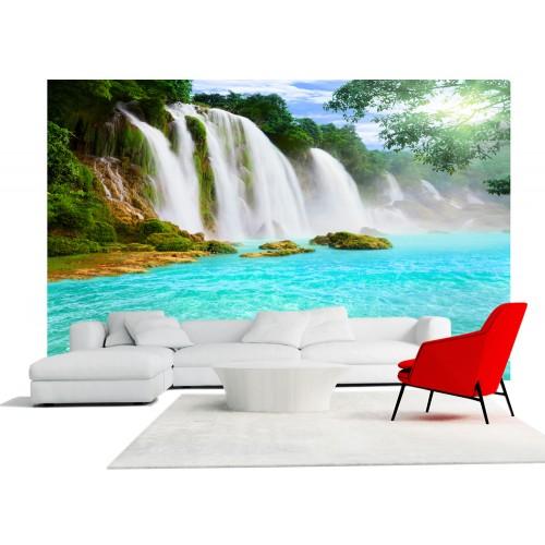 Фототапет водопад цифров печат максимален размер 260х400см модел 28173