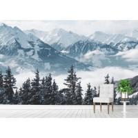 Фототапет снежни ВЪРХОВЕ цифров печат флис основа максимален размер 200х300см модел 28294