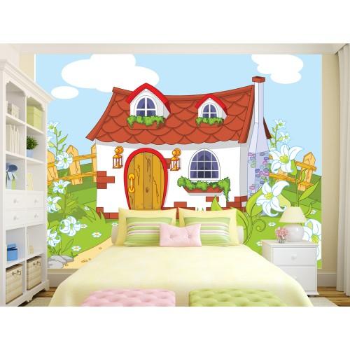 Фототапет за детска стая къщата на Феите цифров печат максимален размер 250х300см модел 28019