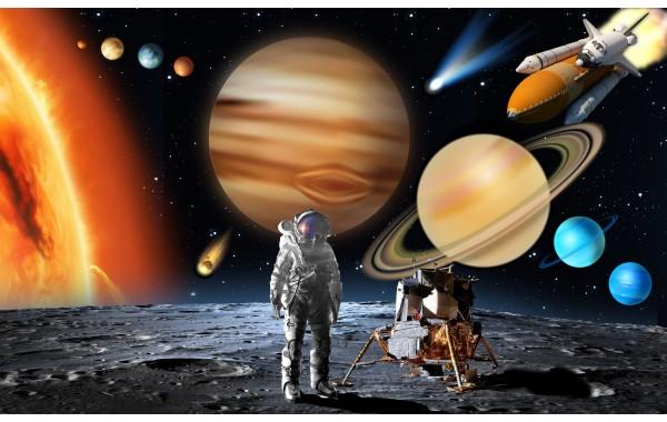 Фототапет модел 28139 космос слънчева система