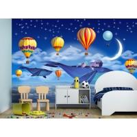 Фототапет сънчо в царството на балоните цифров печат флис основа максимален размер 260х400см модел 28292