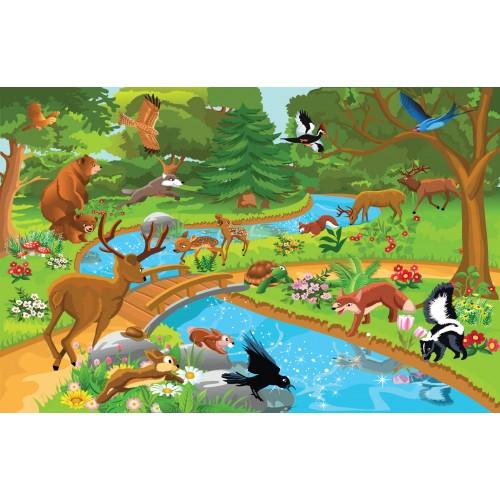 Фототапет модел 28008 горски животни