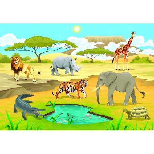 Фототапет модел 28016 животните на африка