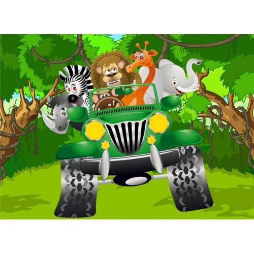 Фототапет модел 28020 джунгла сафари