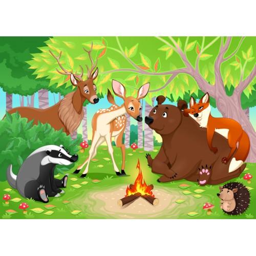 Фототапет модел 28021 горски животни