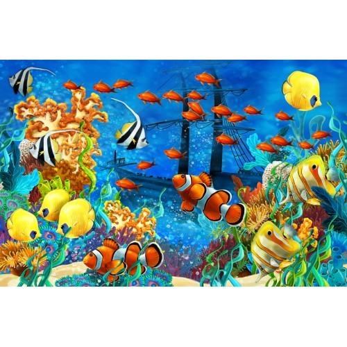 Фототапет модел 28025 подводен свят