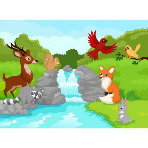 Фототапет модел 28034 горски животни