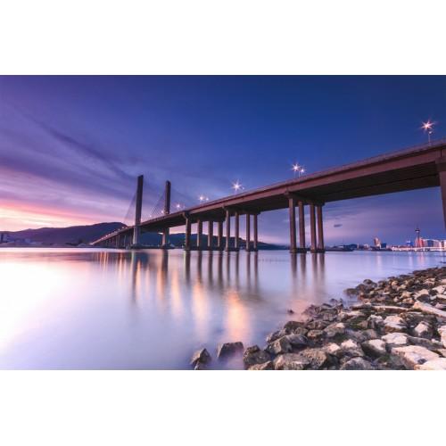 Фототапет модел 28036 град мост
