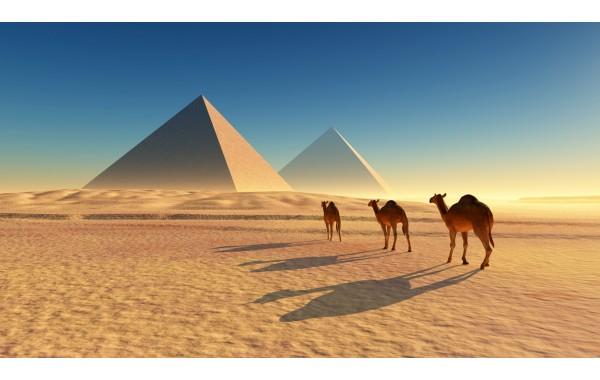 Фототапет модел 28045 Египет Пирамиди