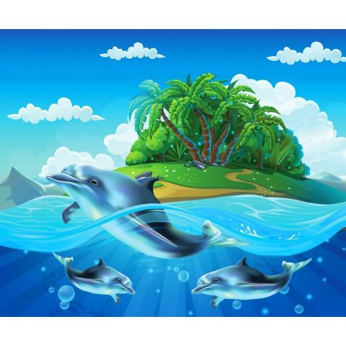 Фототапет модел 28047 остров делфини