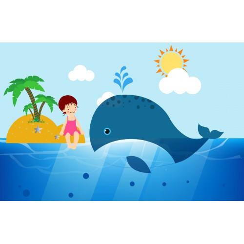 Фототапет модел 28049 мими и кита
