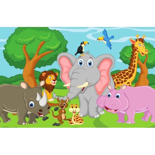 Фототапет модел 28094 животните на африка