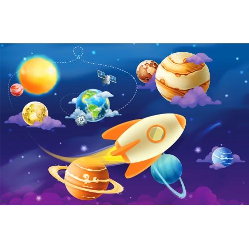 Фототапет модел 28096 слънчева система планети