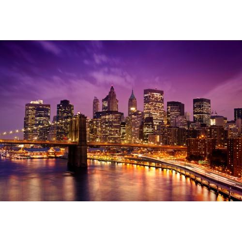 Фототапет модел 28101 нощен град