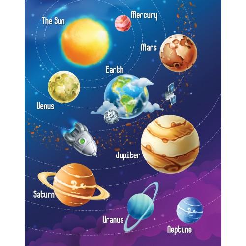 Фототапет модел 28125 космос планети