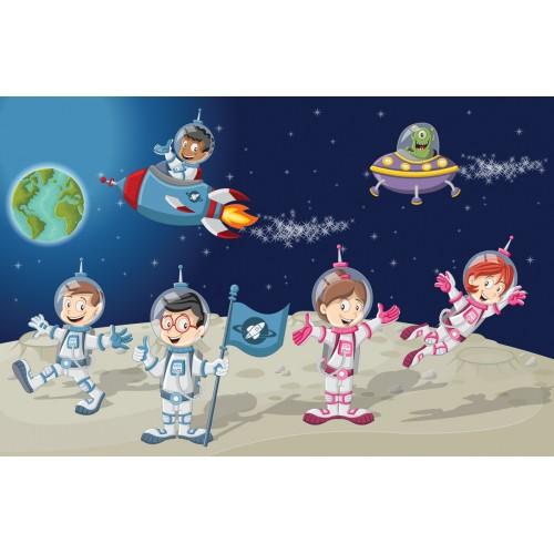 Фототапет модел 28132 космонавти