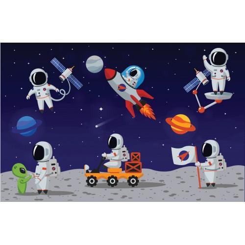 Фототапет модел 28134 космонавти