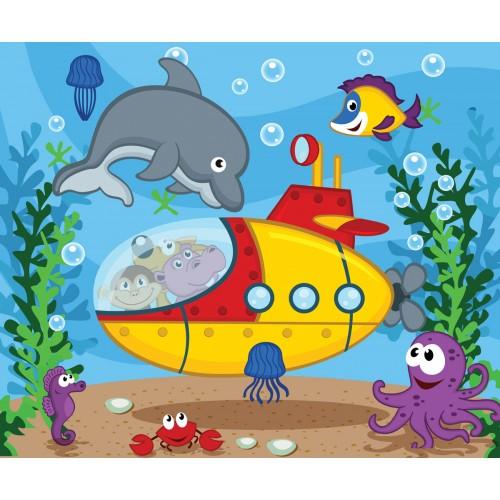 Фототапет модел 28141 подводен свят