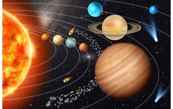 Фототапет модел 28144 космос слънчева система