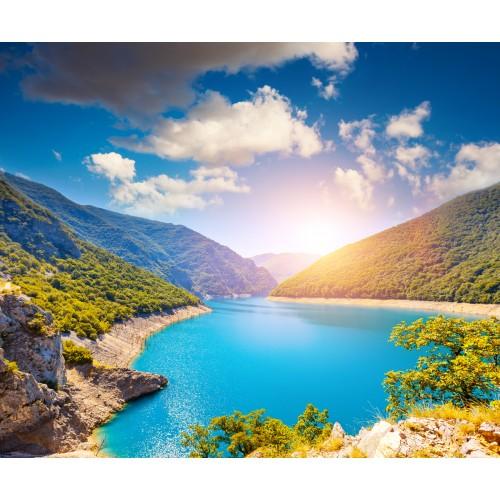 Фототапет модел 28189 планинско езеро