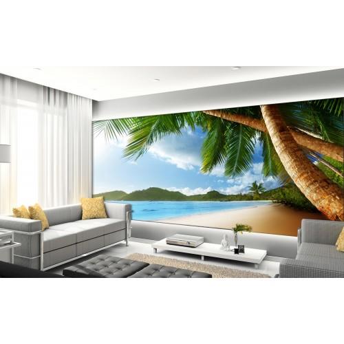Фототапет модел 28250 плаж палми