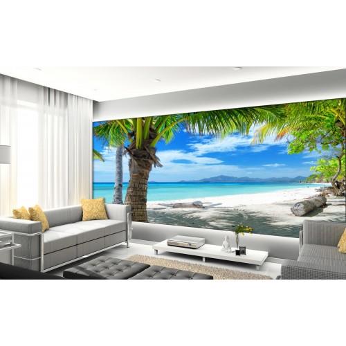 Фототапет модел 28272 плаж палми