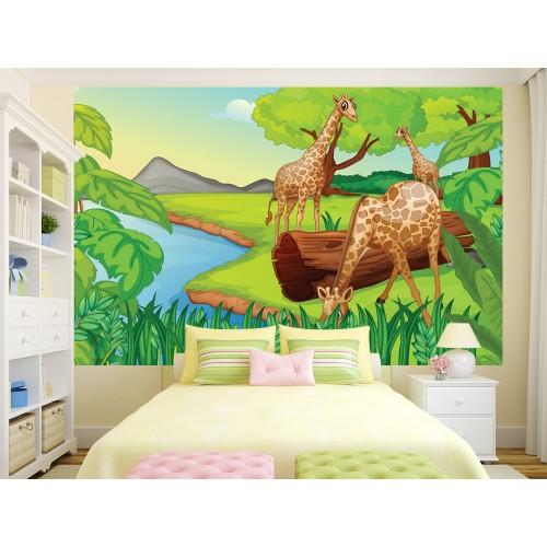 Фототапет модел 28279 жирафи