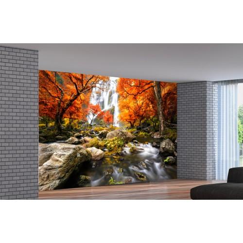 Фототапет модел 28395 Есен Водопад