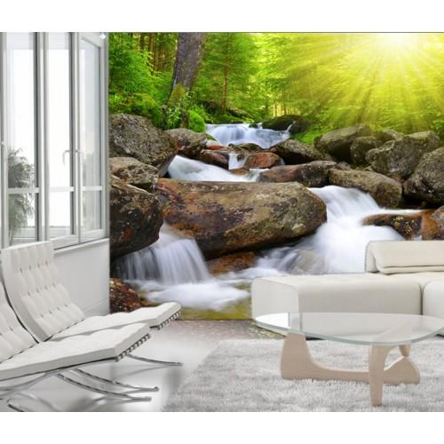 Фототапет модел 28307 горски водопад