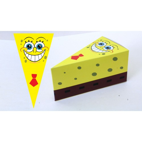 Парченце от Хартиена  торта с украса Модел 30203